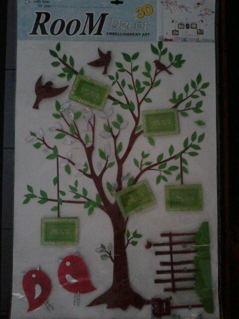 Groupon - Diskon - Hiasi Kamar Kamu Dengan Wall Sticker Frame Photo Hanya  Rp 37.000