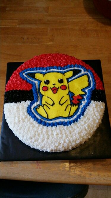 Pikachu cake - gotta catch 'em all!