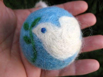 4 Crazy Kings: Needle Felted Ornaments