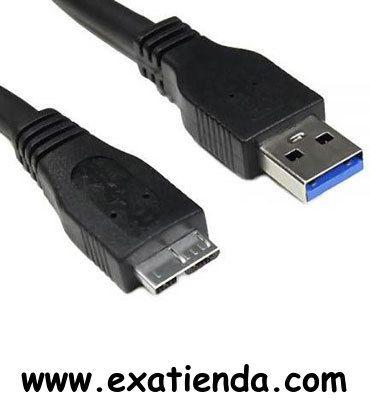 Ya disponible Cable USB 1.8m micro b 3.0    (por sólo 10.89 € IVA incluído):   -USB 3.0 cable de conexión: 1.8m -Concentrador USB o una interfaz USB, un entorno que se utiliza para conectar dispositivos a la computadora. -Las transferencias de datos a velocidad máxima: 5000 Mbps (Super-Speed). -Conector 1: USB A macho -2 conectores: conector micro USB B masculino -Compatible con USB: USB 3.0 -Construcción del cable: cable de 9 hilos -Doble blindado  Garantía de fabric