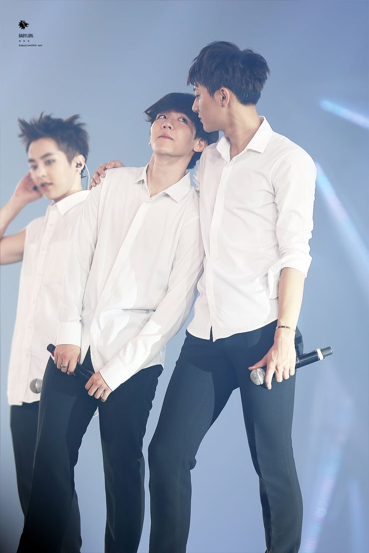 140913-14 Baekhyun and Tao | EXO The Lost Planet in Bangkok