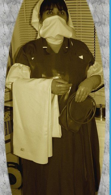 The enema nurse is ready  Nursing History  Nursing