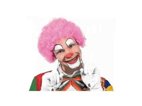 Clowntje heeft een rode neus