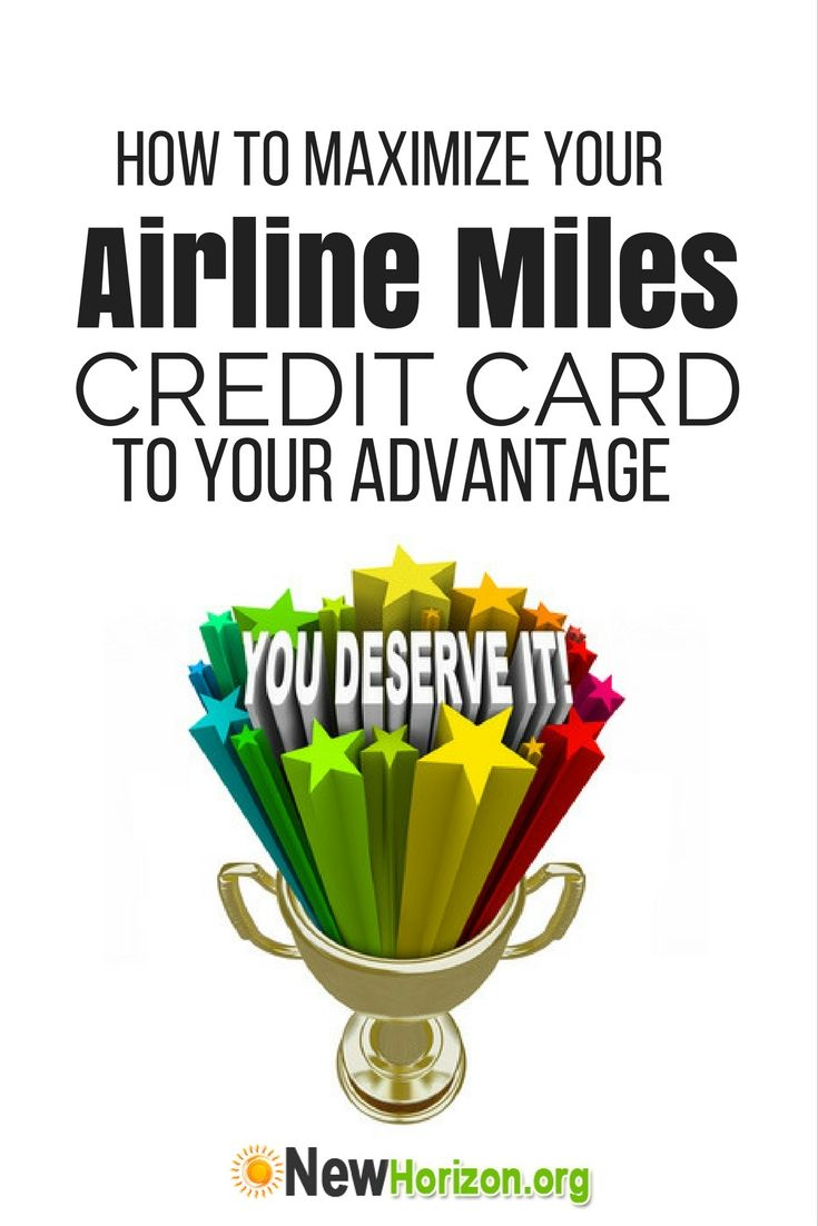 credit card miles deals