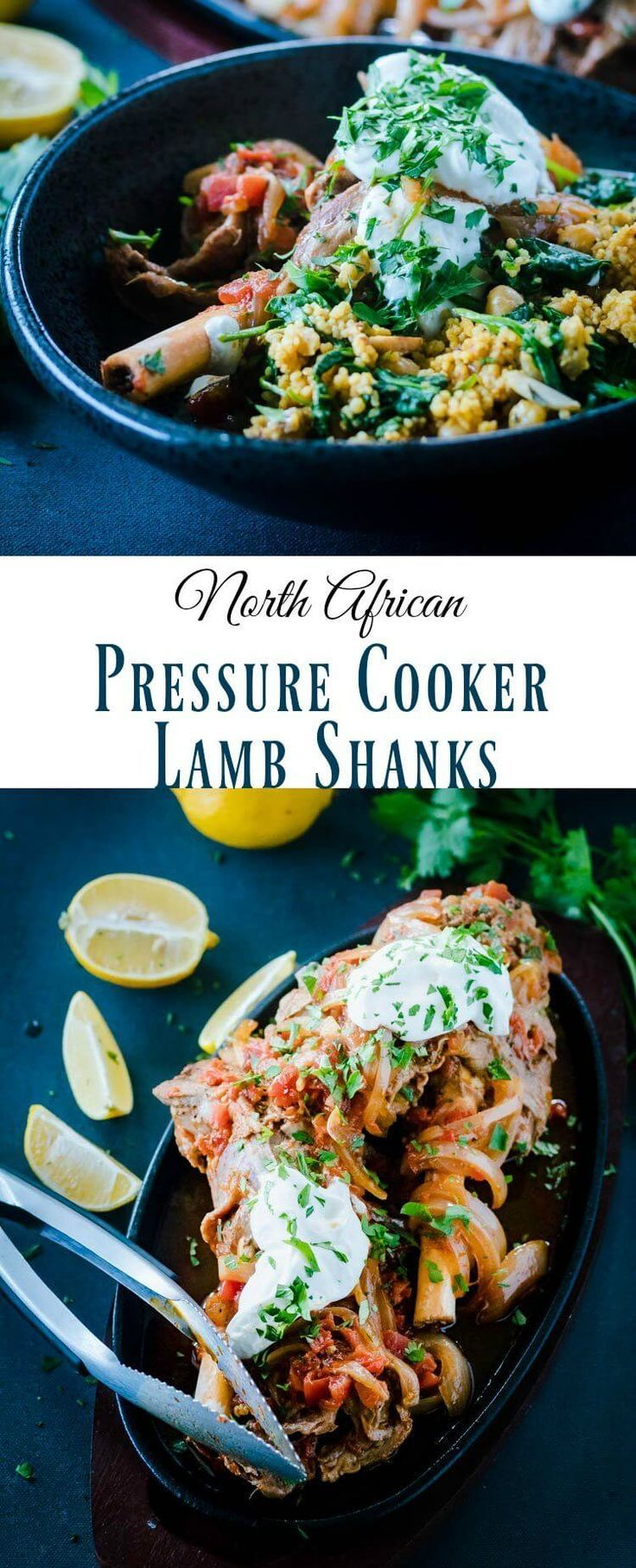North African Pressure Cooker Lamb Shanks Pin -