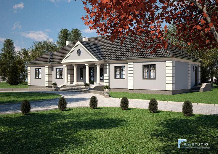 NOWOCZESNE PROJEKTY DOMÓW - BobSTUDIO - Gotowe Projekty Domów i Rezydencji