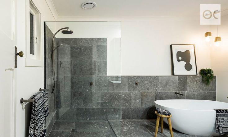 Beachside bungalo. Opulent modern bathrooms. Luxury. Living.Glenelg South. Adelaide. InDaily.