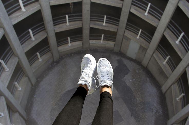 Nike AIR HUARACHE White, shop this sneaker at http://www.frontrunner.nl/asics/