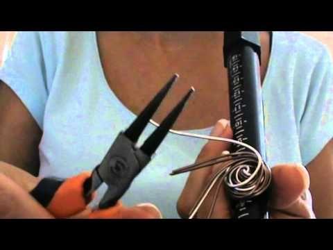 Tutorial Wire | Anello Weave in acciaio inox | in collaborazione con Perles&Co. - YouTube