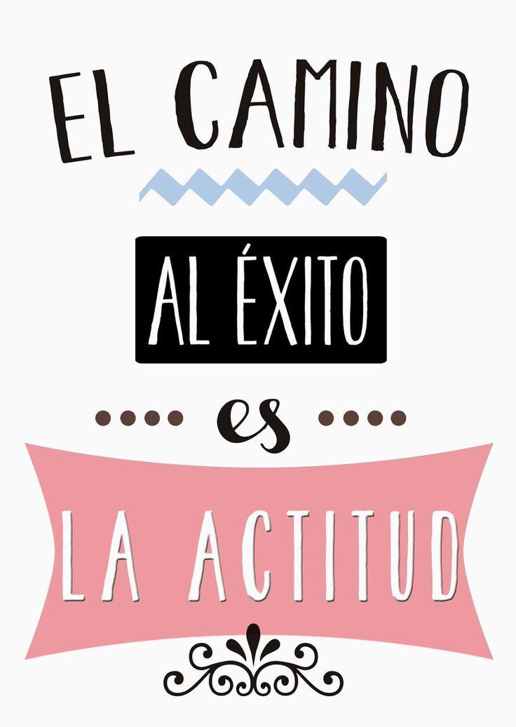 """Buenas noches #ImagenMotivadora """"El camino al éxito es la actitud"""" Retamos @educaCNIIE @leeres @educacion3_0"""