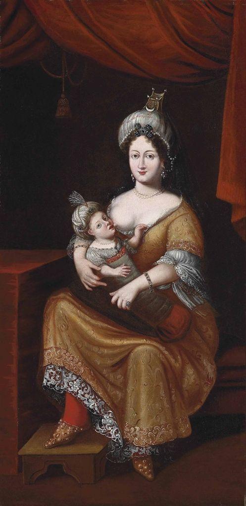 KÖSEM SULTAN AND HER SON, AUSTRIAN SCHOOL, SECOND QUARTER 17TH CENTURY