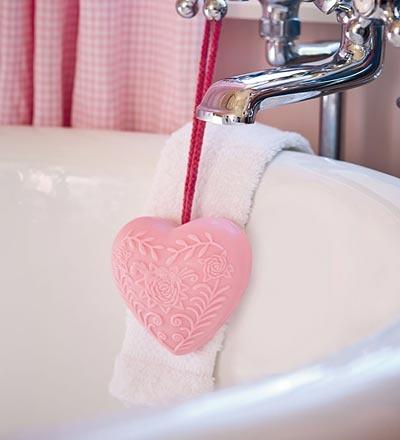Romantic bath