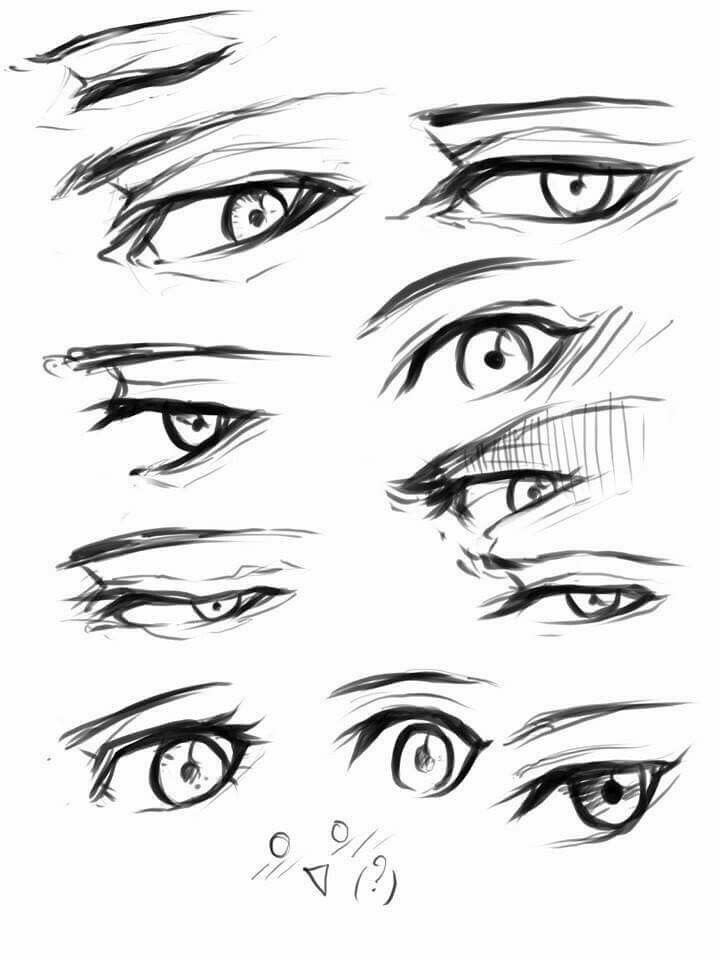 Drawing Eyes Stuff Character Sketches Illustration Tutorials Art Techniques Anime