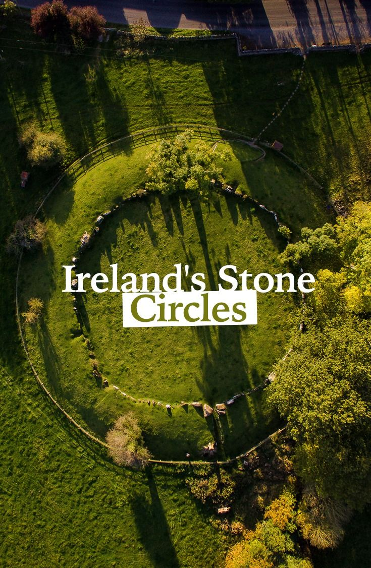 Lough Gur, County Limerick, is home to the largest stone circle in Ireland, complete with 113 standing stones – the largest of which stands at over 13 feet in height and weighs 40 tons!