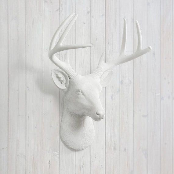 1000 Ideas About Faux Deer Head On Pinterest Antlers