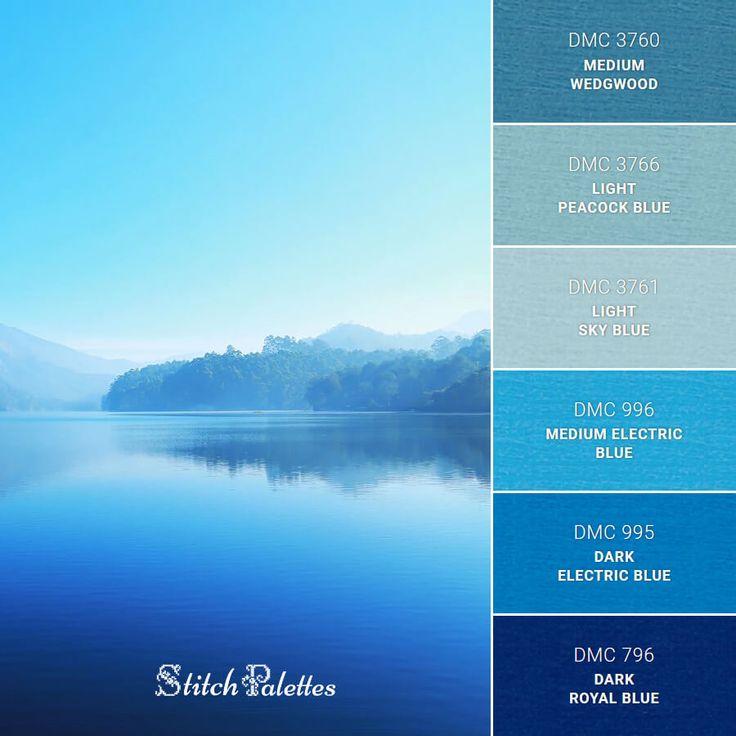 Blue Lake in 2020 | Blue color schemes, Sky blue color ...