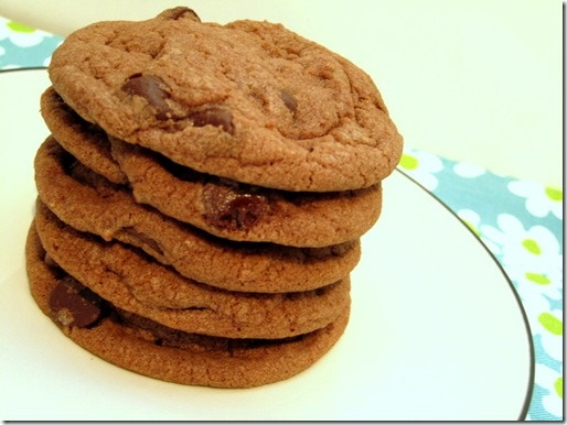 Healthy Chocolate Chip Cookies Made With Flaxseed