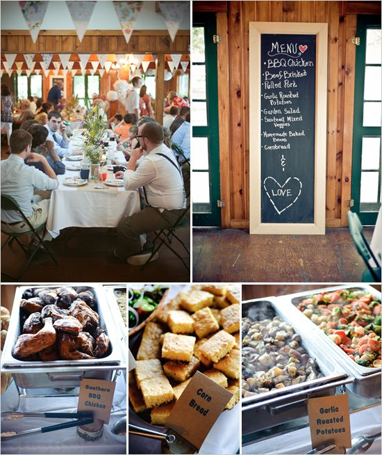 Comfort Food Wedding Menu: We Were Hoping For A Farm Or Camping Wedding. This One Has