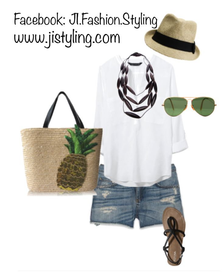 denim shorts for vacation attire