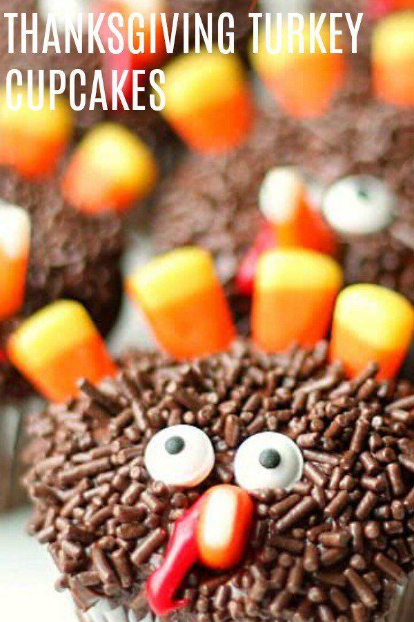 Thanksgiving Turkey Cupcakes Recipe Six Sisters Stuff