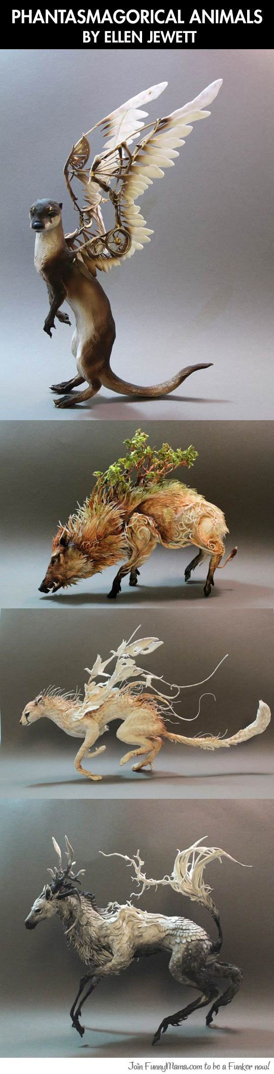 Amazing animal sculpture art...