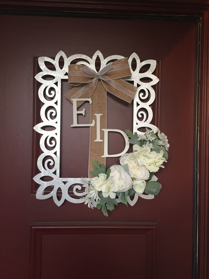 "Eid wreath for sale on Instagram ""Your_name_here"""