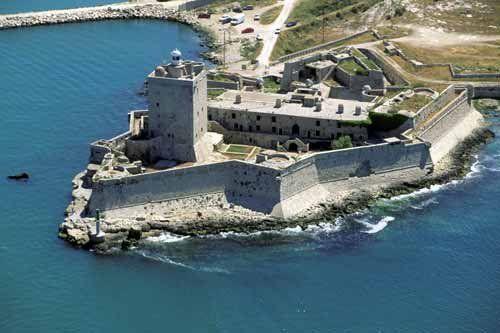 Le fort de Bouc (Martigues)