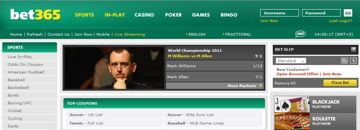 Bet365 Online Betting - tipsxpert