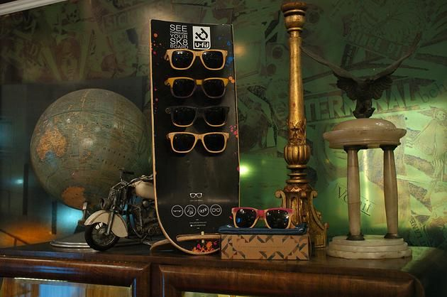 GLID Studio | Industrial Design | Use your skate and turn it into sunglasses!