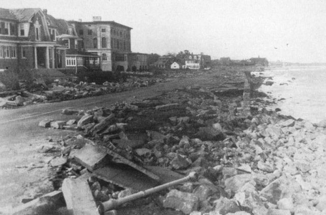 The Great New England Hurricane of 1938 Image Gallery: More Rhode Island Hurricane Damage in 1938