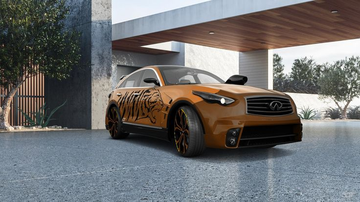 Checkout my tuning #Infiniti #FX50 2009 at 3DTuning #3dtuning #tuning