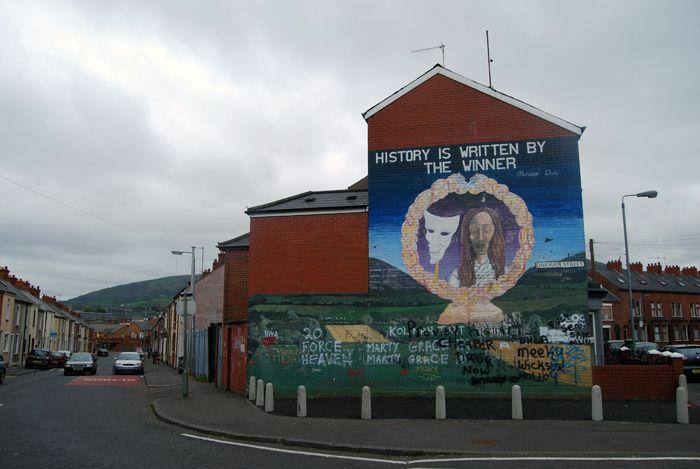 Belfast walls 2, Northern Ireland