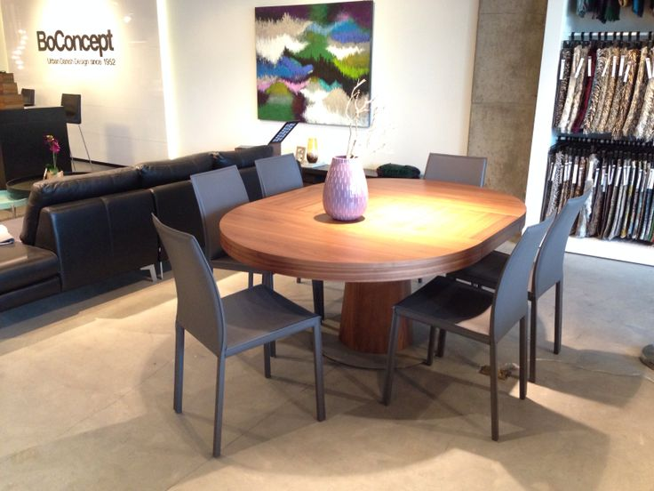 Boconcept granada expanding round dining table design dining pinterest - Table bo concept occasion ...