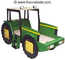 tractor Theme Bed | ... theme beds for kids, ranging from double-decker castles to race cars