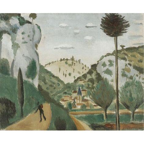 Andre Derain: La route de vers (1912)