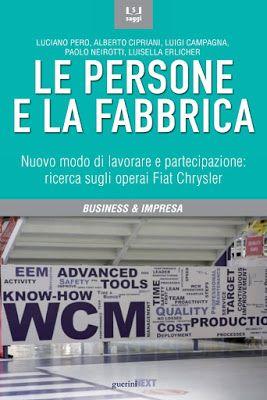 """Copertina del libro """"Le persone e la fabbrica"""""""