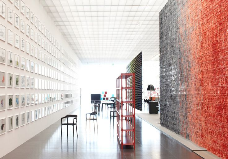 centre pompidou metz ronan + erwan bouroullec: bivouac exhibition