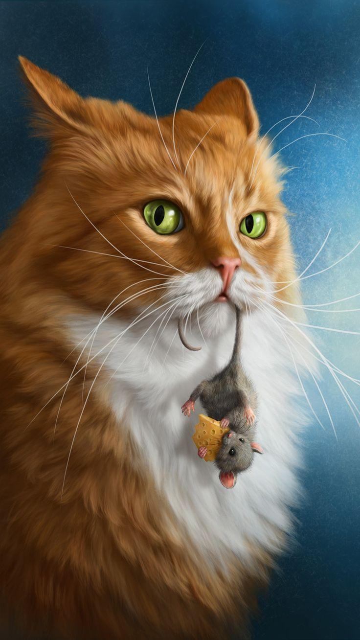 """Das erinnert mich an Penny. Immer ihre """"Maus"""" im Mund 💞"""