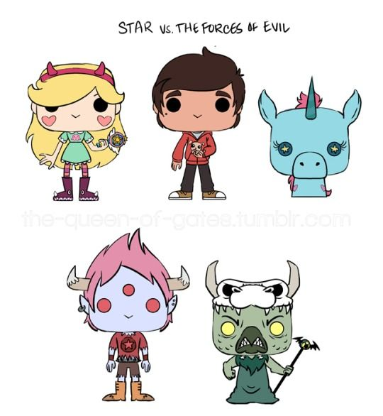 Star vs. The Forces of Evil (Funko POP-like).