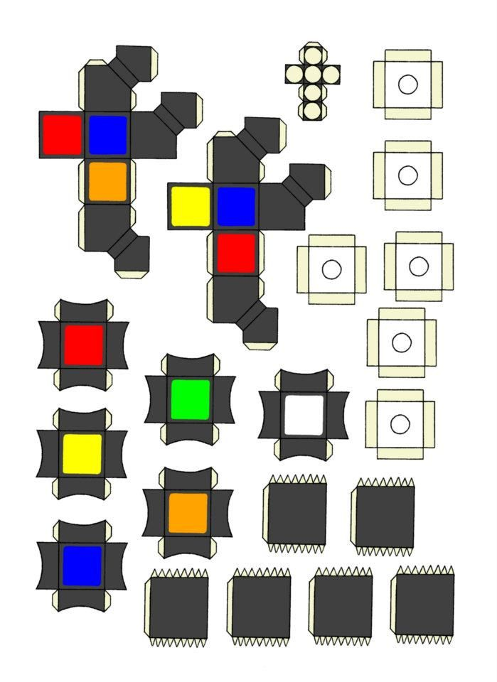Paper Rubik S Cube Part 3 By Michael123425 With Images Cube