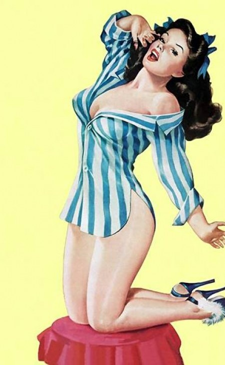 Peter Driben   Pin Up artist   Vintage art #Pin-Ups #Vintage #Retro #Sexy #Girls #Posters