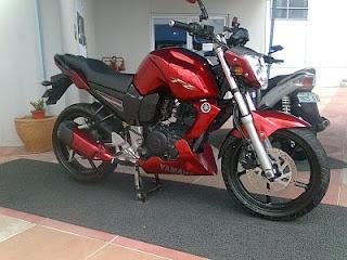 Modified Yamaha FZ16 150cc