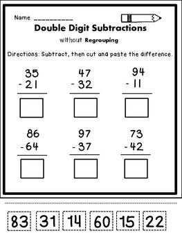8 best Subtraction images on Pinterest | Christmas math, Second ...