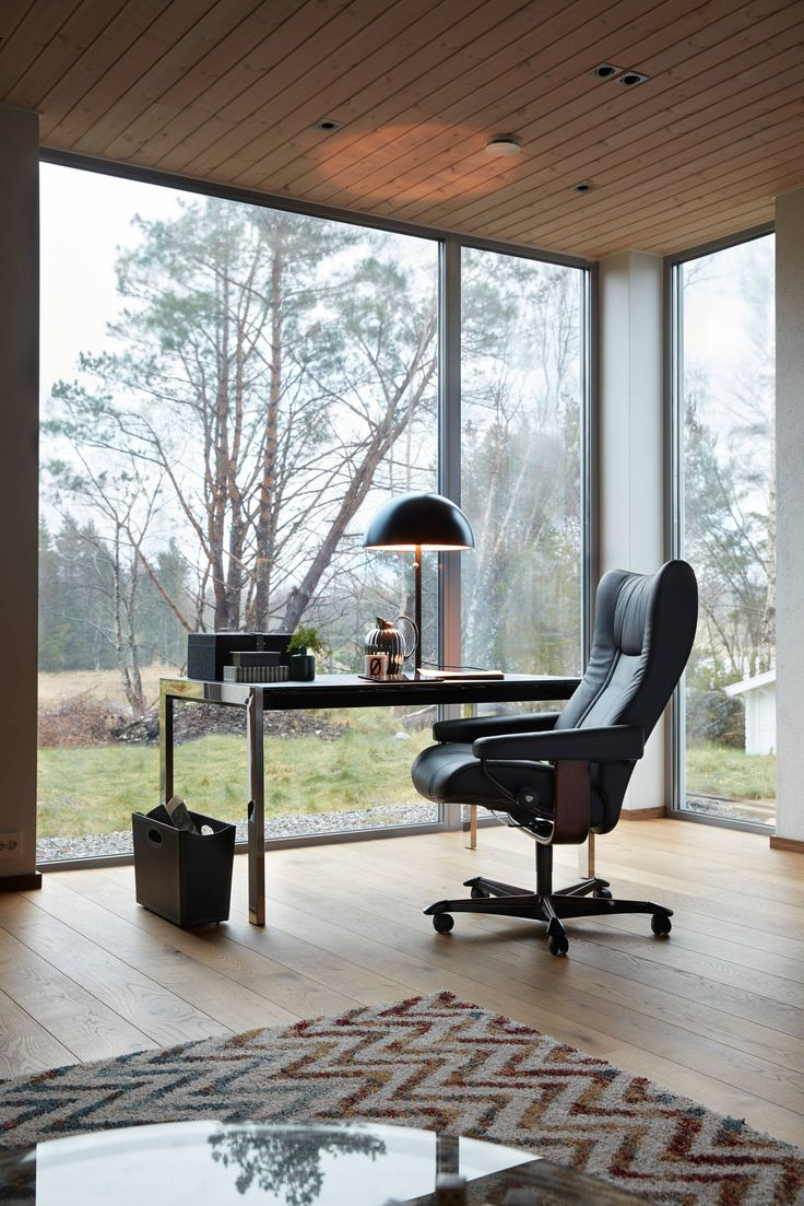Stressless Wing Office Chair in Paloma Leather (color Black). * Available by & 67 best Stressless Recliners u0026 Sofas images on Pinterest ... islam-shia.org