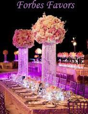 "18"" Glamorous Whimsical Love Spiral Chandelier Centerpiece Wedding & Special Occasion Centerpiece"