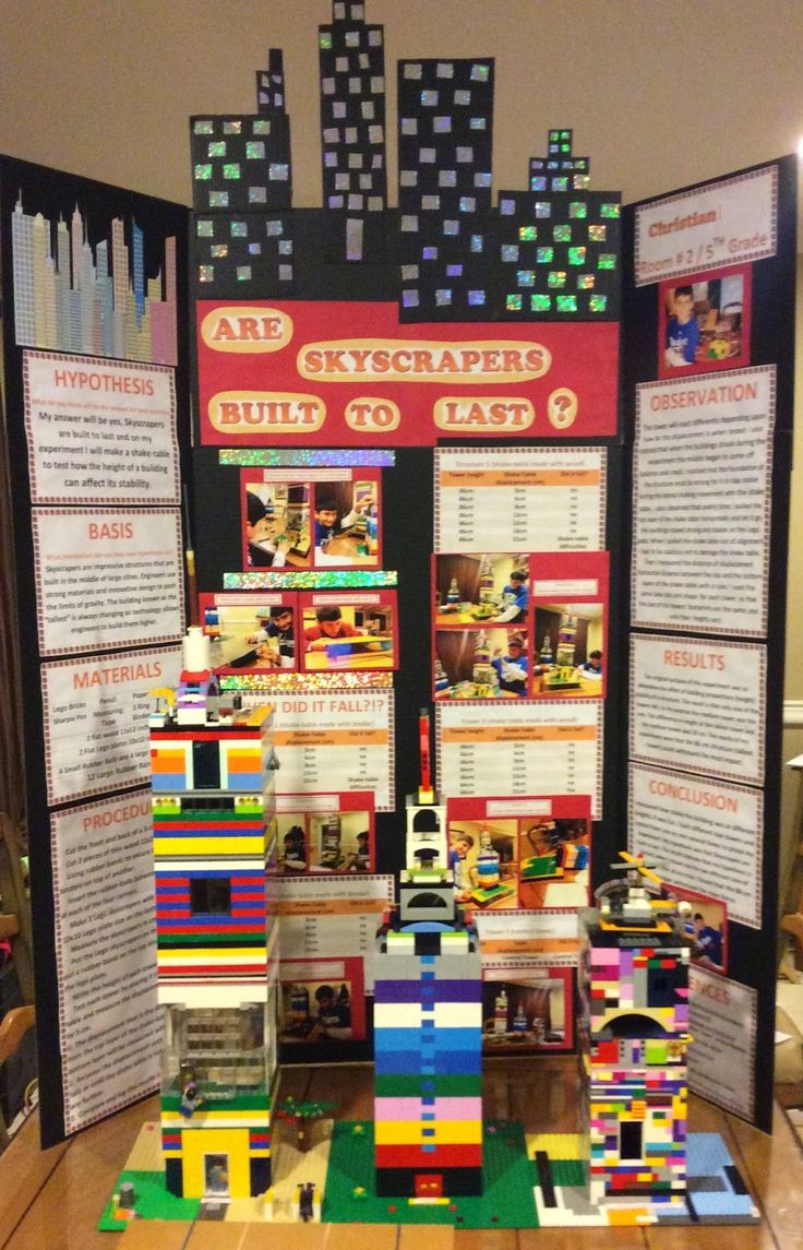 Building Legos with Christ: LEGO® Science Fair Project