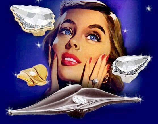 Kolekcja z wkładkami w drogocennych kryształów MADE WITH SWAROVSKI ® ELEMENTS.,.,