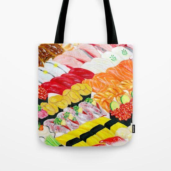 Nigiri-Zushi  Tote Bag by Shihotana