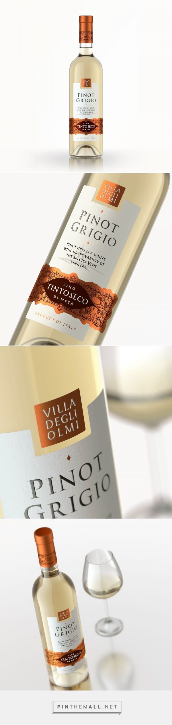 Pinot Grigio - Packaging of the World - Creative Package Design Gallery - http://www.packagingoftheworld.com/2017/03/pinot-grigio.html
