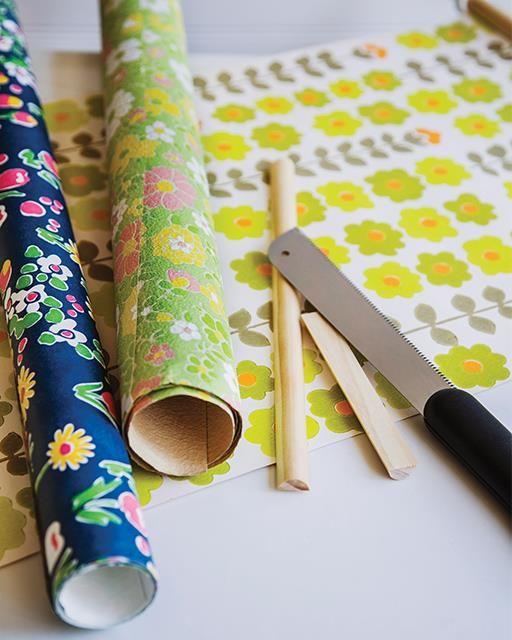136 Best DIY Wallpaper Crafts Images On Pinterest